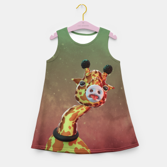 Cool Giraffe Girl's summer dress thumbnail image