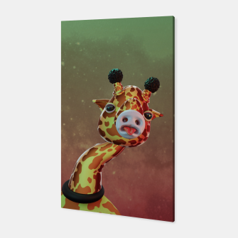 Cool Giraffe Canvas thumbnail image