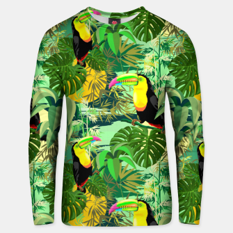 Miniature de image de Toucan in Green Amazonia Rainforest  Unisex sweater, Live Heroes