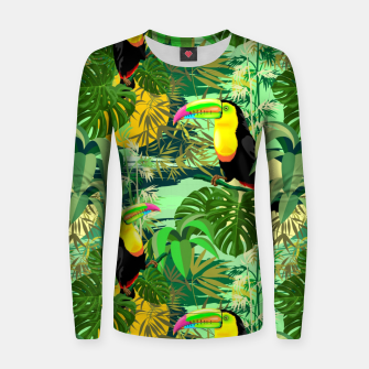 Miniature de image de Toucan in Green Amazonia Rainforest  Women sweater, Live Heroes