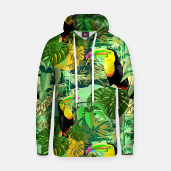 Miniature de image de Toucan in Green Amazonia Rainforest  Hoodie, Live Heroes