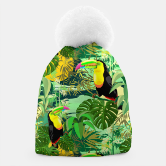 Miniature de image de Toucan in Green Amazonia Rainforest  Beanie, Live Heroes