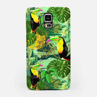 Thumbnail image of Toucan in Green Amazonia Rainforest  Samsung Case, Live Heroes