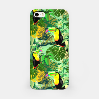 Miniature de image de Toucan in Green Amazonia Rainforest  iPhone Case, Live Heroes