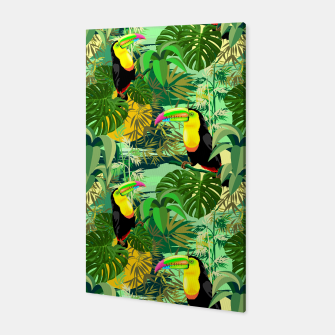 Miniature de image de Toucan in Green Amazonia Rainforest  Canvas, Live Heroes