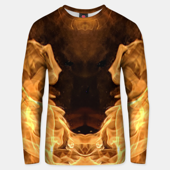 Miniaturka Moth to the flame Unisex sweater, Live Heroes