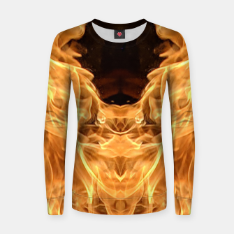 Miniatur Moth to the flame Women sweater, Live Heroes