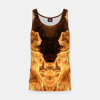 Miniature de image de Moth to the flame Tank Top, Live Heroes