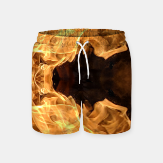 Thumbnail image of Moth to the flame Swim Shorts, Live Heroes