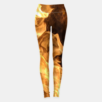 Miniaturka Moth to the flame Leggings, Live Heroes