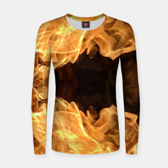 Miniatur Flame Women sweater, Live Heroes