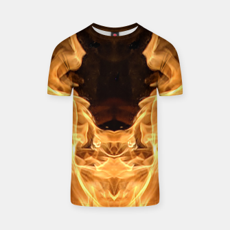 Thumbnail image of Flame T-shirt, Live Heroes