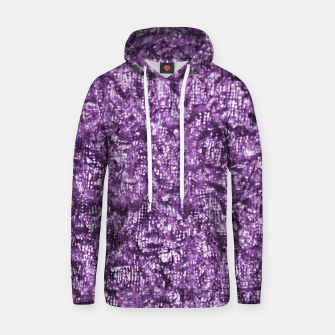 Miniaturka Violet Glitter Abstract Print Hoodie, Live Heroes