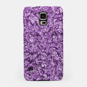 Thumbnail image of Violet Glitter Abstract Print Samsung Case, Live Heroes