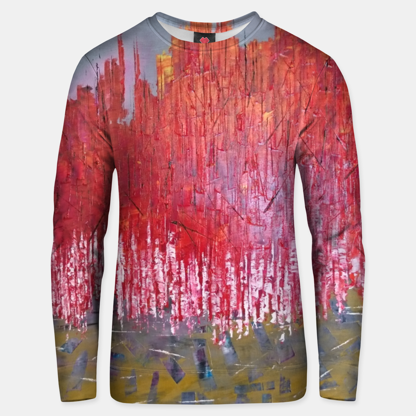 Image of rosu Unisex sweater - Live Heroes