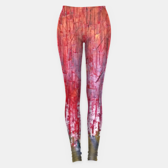 Thumbnail image of rosu Leggings, Live Heroes