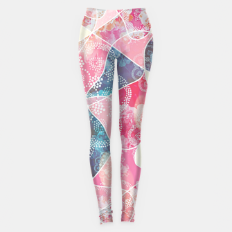 Thumbnail image of Floral geometric Leggings, Live Heroes