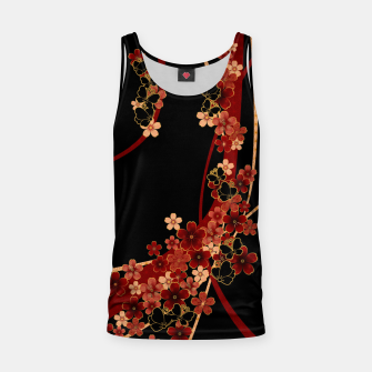 Miniature de image de Japanese tradirional emblem design Flower and Butterfly Tank Top, Live Heroes