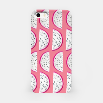 Thumbnail image of Dragon Fruit Summer Vibes Pattern #2 #fruity #decor #art  iPhone-Hülle, Live Heroes
