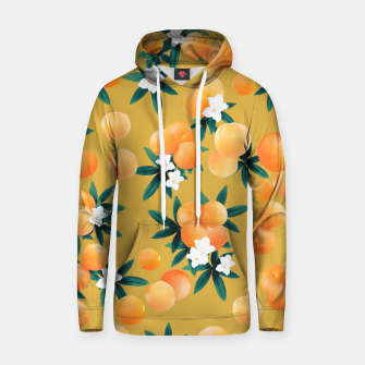 Miniaturka Orange Twist Flower Vibes #5 #tropical #fruit #decor #art Kapuzenpullover, Live Heroes