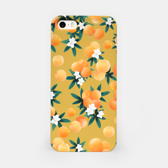 Miniaturka Orange Twist Flower Vibes #5 #tropical #fruit #decor #art iPhone-Hülle, Live Heroes