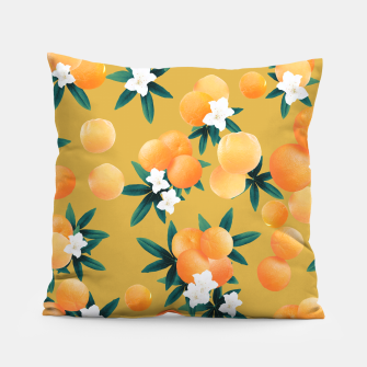 Miniaturka Orange Twist Flower Vibes #5 #tropical #fruit #decor #art Kissen, Live Heroes