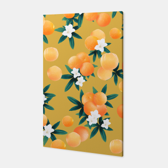 Miniaturka Orange Twist Flower Vibes #5 #tropical #fruit #decor #art Canvas, Live Heroes