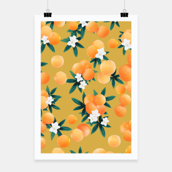 Miniaturka Orange Twist Flower Vibes #5 #tropical #fruit #decor #art Plakat, Live Heroes