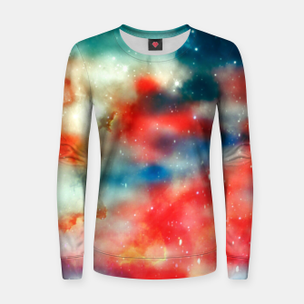 Thumbnail image of Galaxy marble Women sweater, Live Heroes