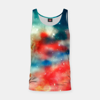 Thumbnail image of Galaxy marble Tank Top, Live Heroes