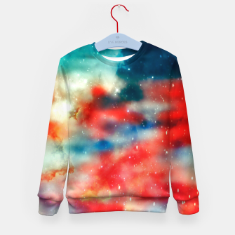 Thumbnail image of Galaxy marble Kid's sweater, Live Heroes