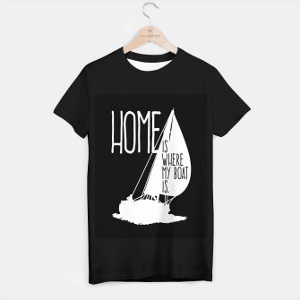 Home Is Where My Boat Is T-Shirt regulär thumbnail image