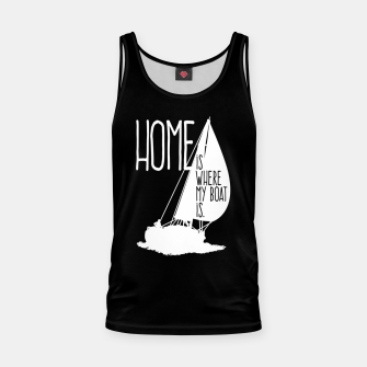 Home Is Where My Boat Is Muskelshirt  thumbnail image