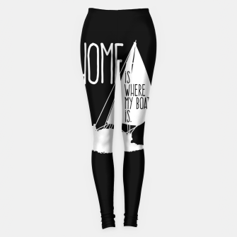 Home Is Where My Boat Is Leggings thumbnail image