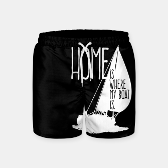 Home Is Where My Boat Is Badeshorts thumbnail image