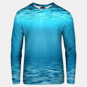 Thumbnail image of Underwater scene Unisex sweater, Live Heroes