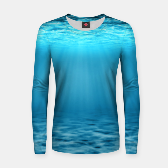Thumbnail image of Underwater scene Women sweater, Live Heroes