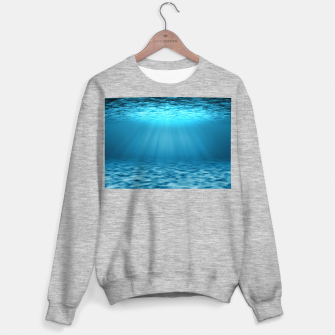 Thumbnail image of Underwater scene Sweater regular, Live Heroes