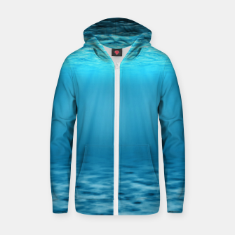 Thumbnail image of Underwater scene Zip up hoodie, Live Heroes