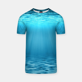 Thumbnail image of Underwater scene T-shirt, Live Heroes