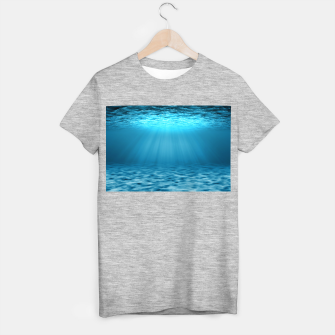 Thumbnail image of Underwater scene T-shirt regular, Live Heroes