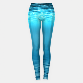 Thumbnail image of Underwater scene Leggings, Live Heroes