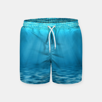 Thumbnail image of Underwater scene Swim Shorts, Live Heroes