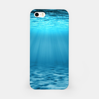 Thumbnail image of Underwater scene iPhone Case, Live Heroes