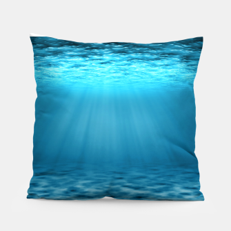 Thumbnail image of Underwater scene Pillow, Live Heroes