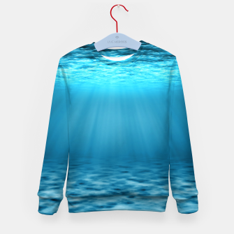 Thumbnail image of Underwater scene Kid's sweater, Live Heroes