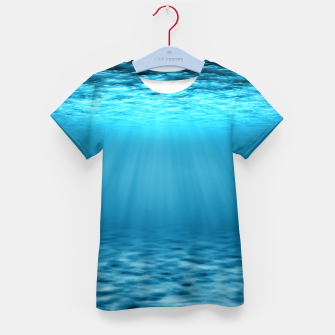 Thumbnail image of Underwater scene Kid's t-shirt, Live Heroes