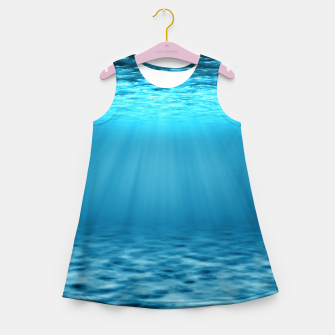 Thumbnail image of Underwater scene Girl's summer dress, Live Heroes
