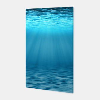 Thumbnail image of Underwater scene Canvas, Live Heroes