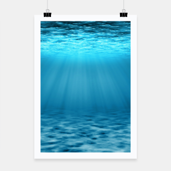 Thumbnail image of Underwater scene Poster, Live Heroes